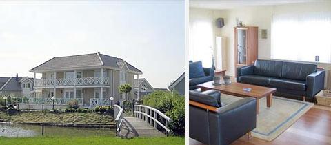 Impressie van deze 10-persoons villa op Noordzee Résidence De Banjaard