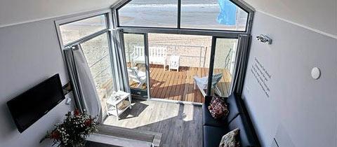 Impressie van dit 6-persoons strandhuisje op Landal Beach Resort Ooghduyne