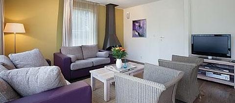 Impressie van deze 4-persoons villa op Landal Beach Park Texel