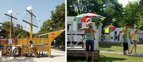 Impressie van Vakantiepark Kijkduin in Den Haag, Zuid-Holland