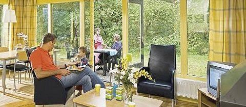 Impressie van deze 4-persoons bungalow op Landal Coldenhove