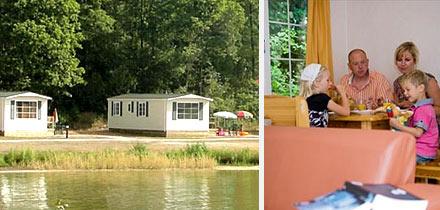 Impressie van dit 5-persoons chalet op Vakantiepark Hunzedal