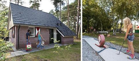 Impressie van Bospark Lunsbergen in Borger, Drenthe