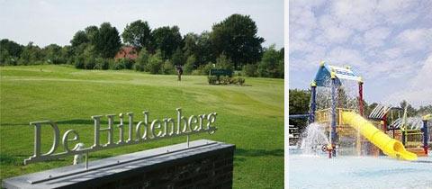 Impressie van Buitenplaats De Hildenberg in Appelscha, Friesland