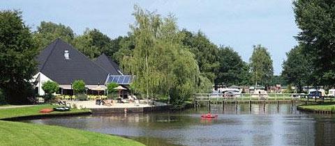 Impressie van Hunzepark in Gasselternijveen, Drenthe