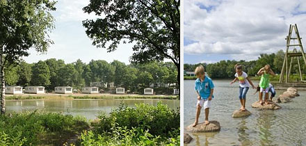 Impressie van Vakantiepark Hunzedal in Borger, Drenthe