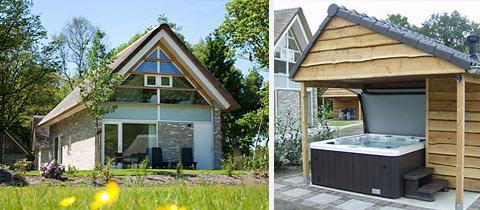Impressie van deze 6-persoons bungalow op Bungalowpark de Marke van Ruinen