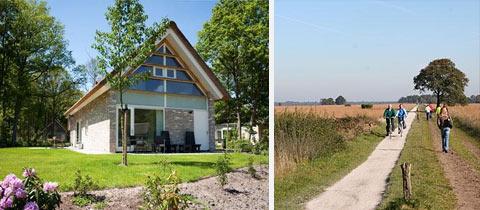 Impressie van Bungalowpark de Marke van Ruinen in Ruinen, Drenthe