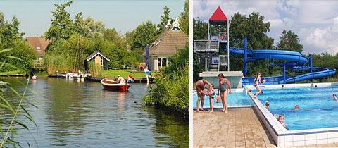 Impressie van Buitenplaats It Wiid in Eernewoude, Friesland