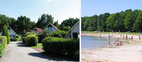 Impressie van Bungalowpark Het Bosmeer in Noordwolde, Friesland