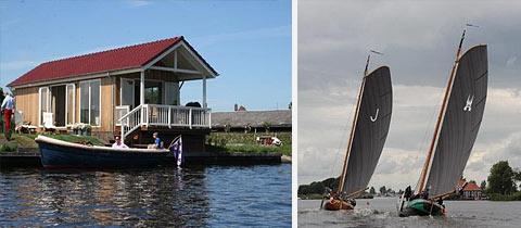 Impressie van Recreatiepark Tusken de Marren in Akkrum, Friesland