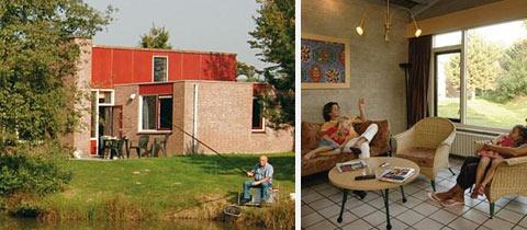 Impressie van deze 6-persoons bungalow op Vakantiepark Weerterbergen