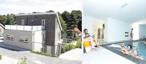 Impressie van deze 8-persoons villa op Resort Arcen