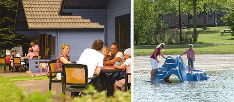 Impressie van Vakantiepark Klein Vink in Arcen, Limburg