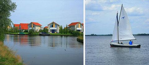 Impressie van Villapark Schildmeer in Steendam, Groningen