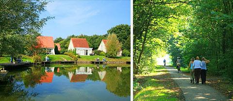 Impressie van Villapark Weddermeer in Wedde, Groningen