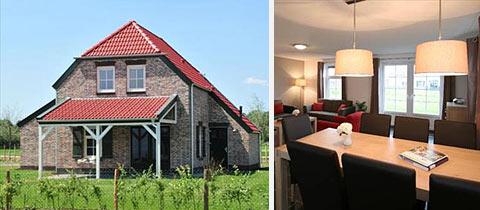 Impressie van deze 6-persoons vakantiewoning op Buitenhof De Leistert