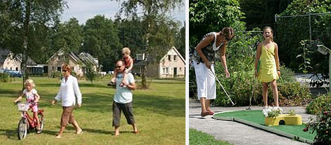 Impressie van Bungalowpark Familyland in Hoogerheide, Noord-Brabant