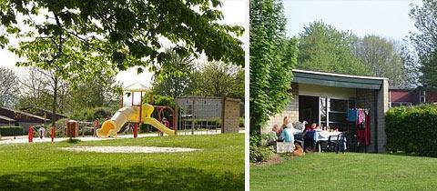 Impressie van Bungalowpark Schin op Geul in Walem, Limburg
