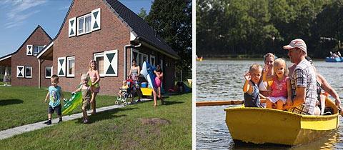 Impressie van Villapark Panjevaart in Hoeven, Noord-Brabant