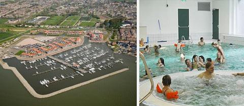 Impressie van Marinapark Volendam in Volendam, Noord-Holland