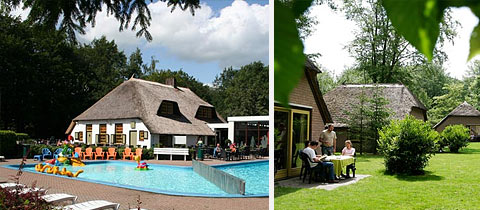 Impressie van Park De Leemkule in Hattem, Gelderland