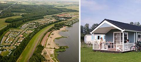 Impressie van Park Flevostrand in Biddinghuizen, Flevoland