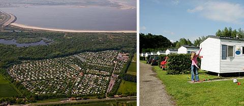 Impressie van Park Rondeweibos in Rockanje, Zuid-Holland