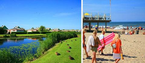 Impressie van Strandslag Juliana in Julianadorp aan Zee, Noord-Holland