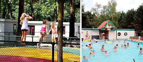 Impressie van Vakantiepark Brugse Heide in Valkenswaard, Noord-Brabant