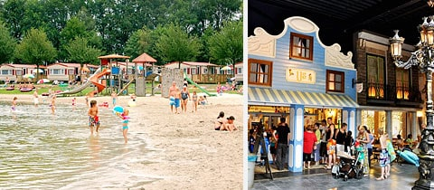 Impressie van Vakantiepark Prinsenmeer in Asten-Ommel, Noord-Brabant