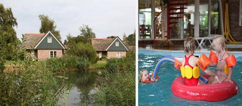Impressie van Villapark De Weerribben in Paasloo, Overijssel