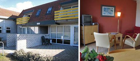 Impressie van dit 4-persoons appartement op Bosch en Zee