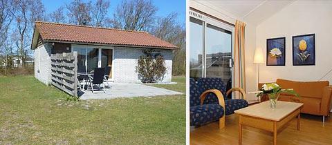 Afbeelding 4-persoons vrijstaande bungalow type Bornrif Cottage