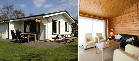 4 Persoons Chalet Type Finse Bungalow Boomhiemke Ameland