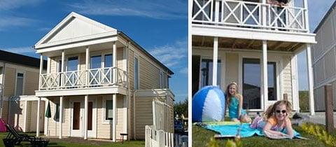 Impressie van deze 4-persoons villa op Noordzee Résidence De Banjaard