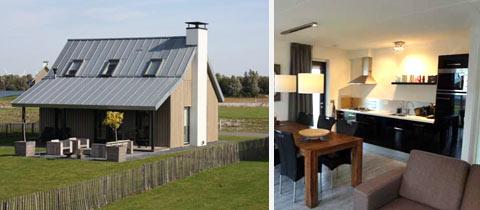 Impressie van deze 6-persoons villa op Waterrijk Oesterdam