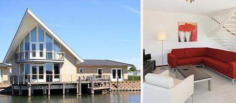 Impressie van deze 6-persoons villa op Waterpark Veerse Meer