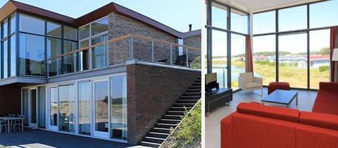Impressie van deze 8-persoons villa op Waterpark Veerse Meer