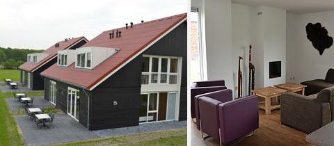 Impressie van deze 8-persoons villa op Villapark De Weerribben