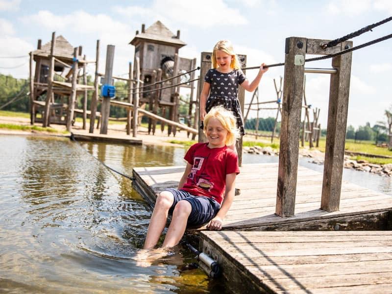 Recreatieplas bij Recreatiepark het Esmeer