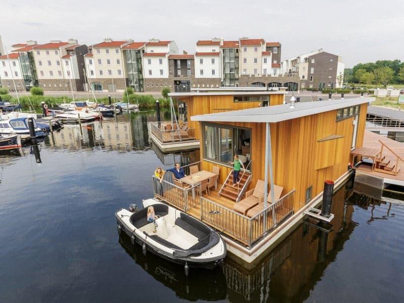 Accommodaties op Center Parcs De Eemhof