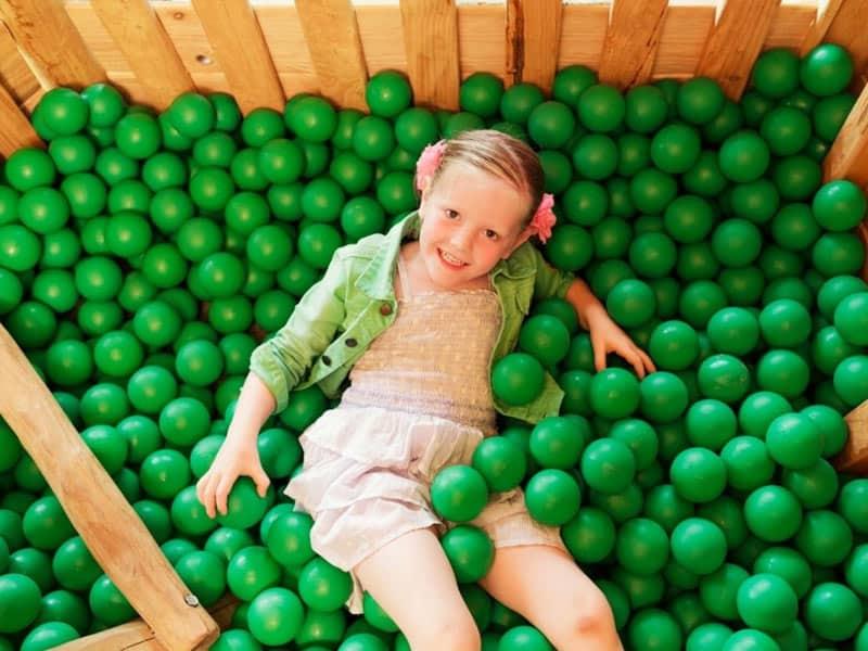 Kinderen kunnen lekker spelen