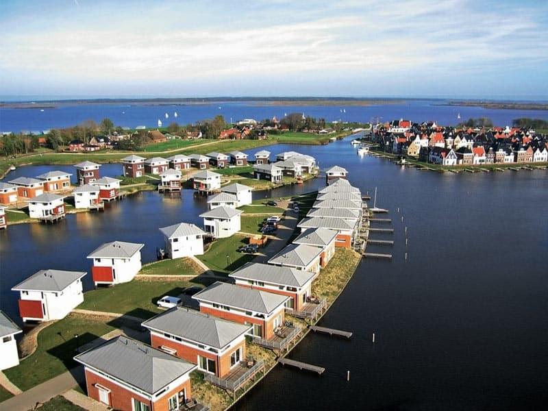 Mooie vakantiehuizen aan het water