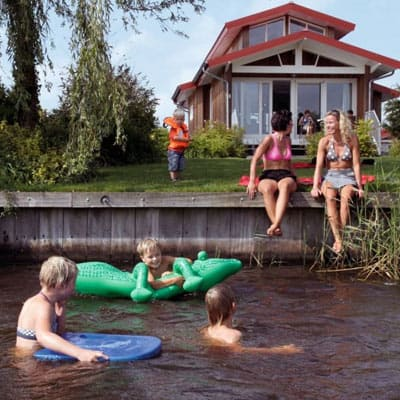 Waterpark Zwartkruis - Noordbergum, Friesland