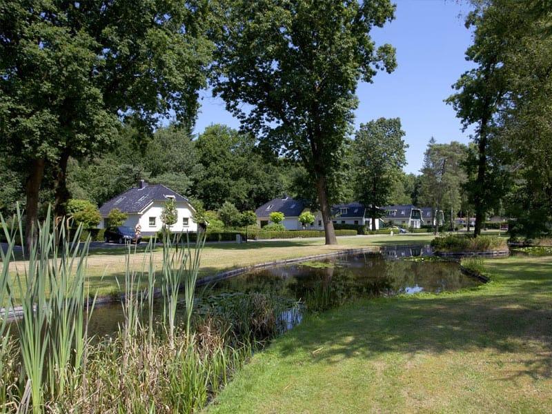 Impressie van Bospark Ede op de Veluwe
