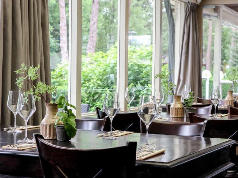 Restaurant op Droompark Beekbergen
