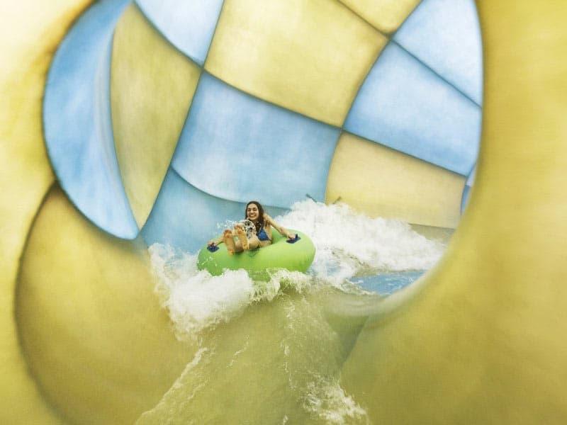 De Trubo Twister in de Aqua Mundo