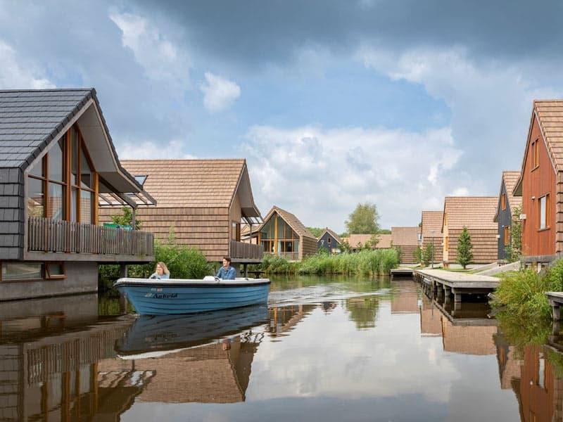 Luxe woningen aan het water voor 2 tot 20 personen