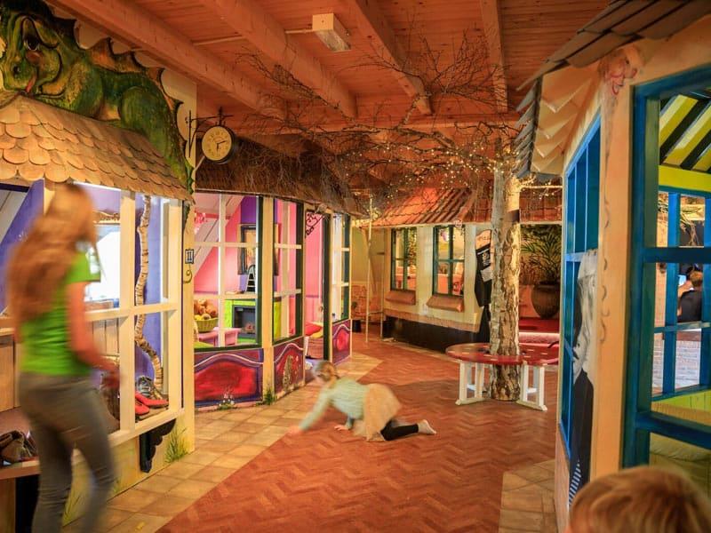 De indoor speeltuin bij Resort Veluwe